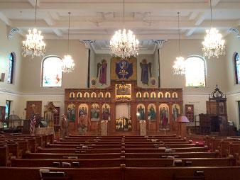interior church painters