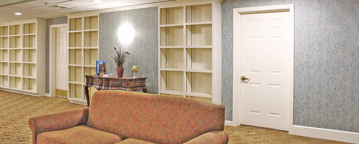 assisted living wallpaper installation