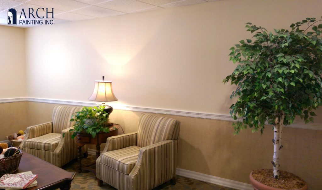 senior living interior painting service