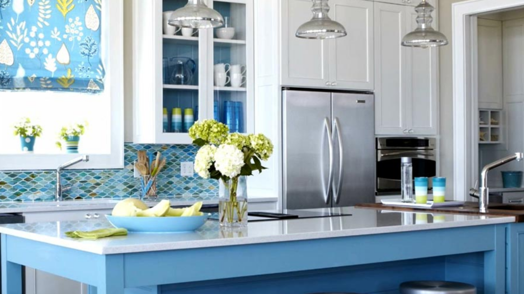 Kitchen Paint Colors & Home Kitchen Painting Tips: Interior Paint ...