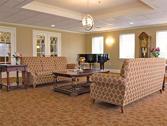 assisted living facility interior paint service