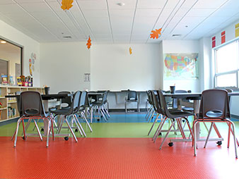 classroom interior painting service