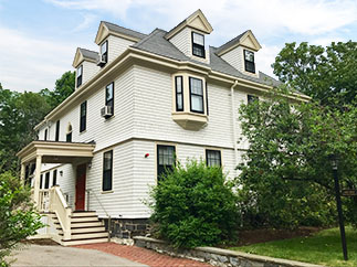 exterior painting historical property